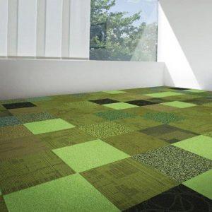 Farebné koberce - kobercové dlaždice - koberec namieru - Kolekcia Les